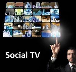 Social TV iphone ipad tablet mobile